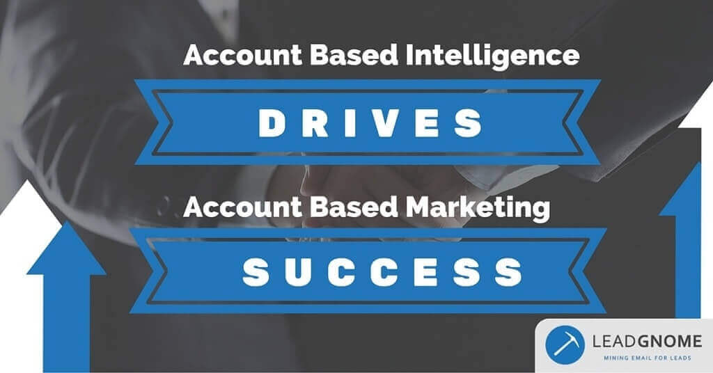 Account Based Intelligence Drives Account Based Marketing Success