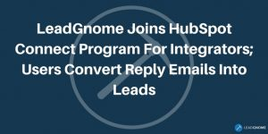 LeadGnome Joins HubSpot