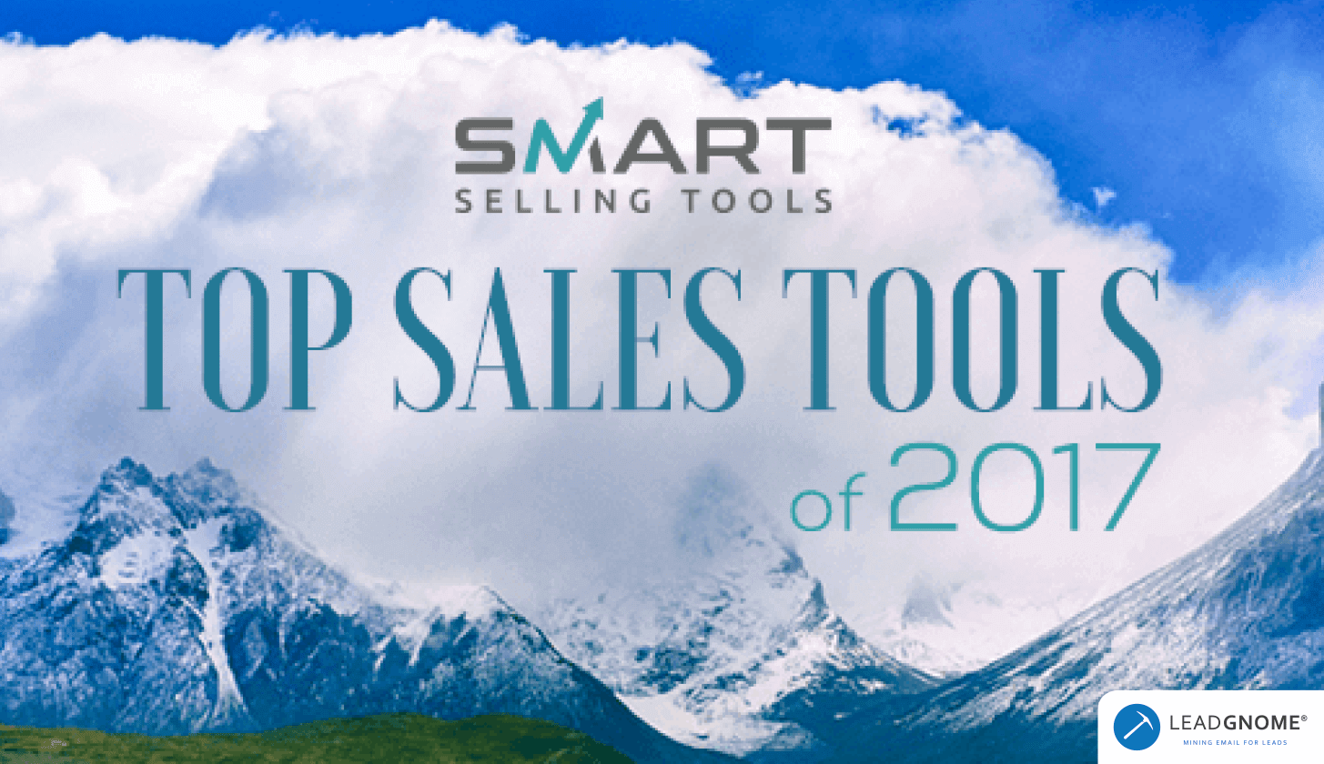 LeadGnome Named Top Sales Tool 2017 By Smart Selling Tools