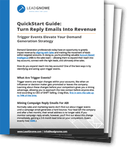 Quickstart Guide Turn Reply Emails Into Revenue