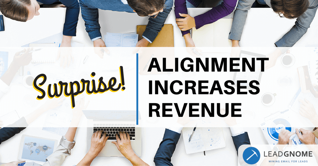 Surprise! Alignment Increases Revenue