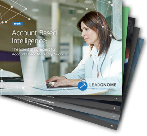 Account Based Intelligence eBook Cover