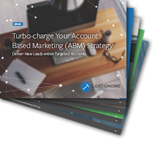 Turbo-Charge Your Account Based Marketing Strategy Cover