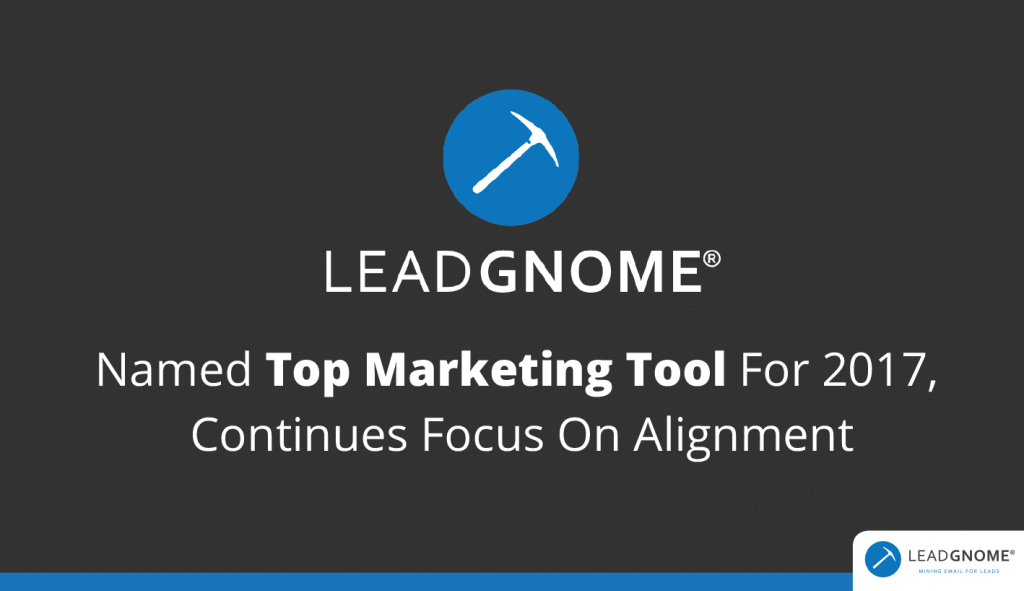 LeadGnome Named Top Marketing Tool 2017