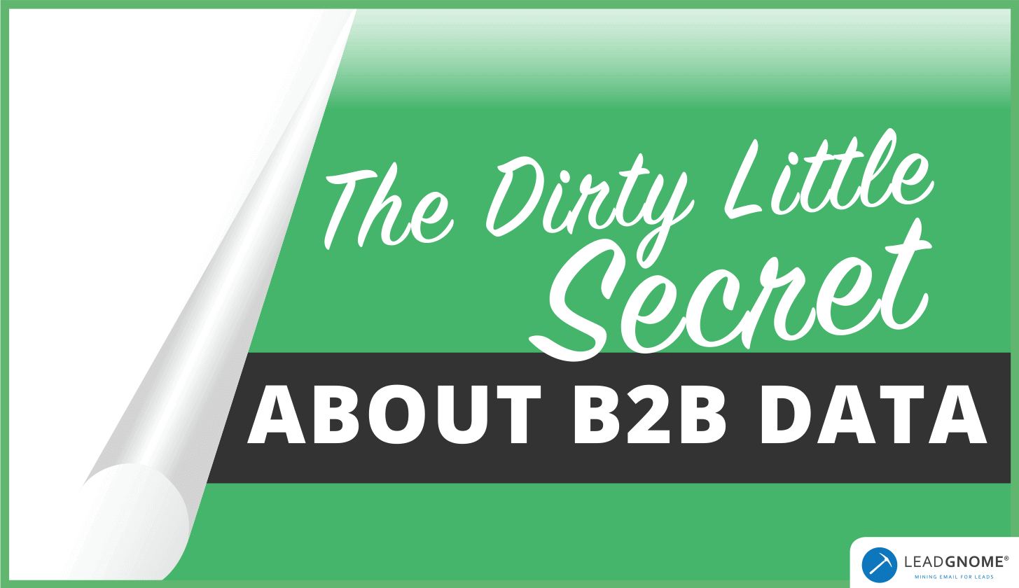 B2B Data Cleansing Solution