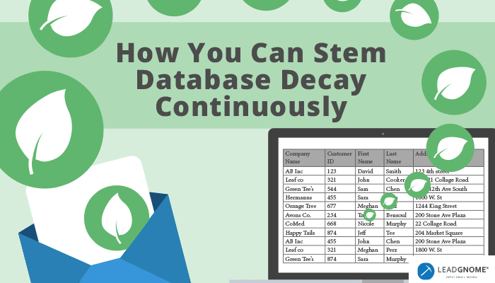 How To Stem Database Decay