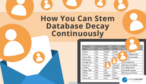 How You Can Stem Database Decay Continuously