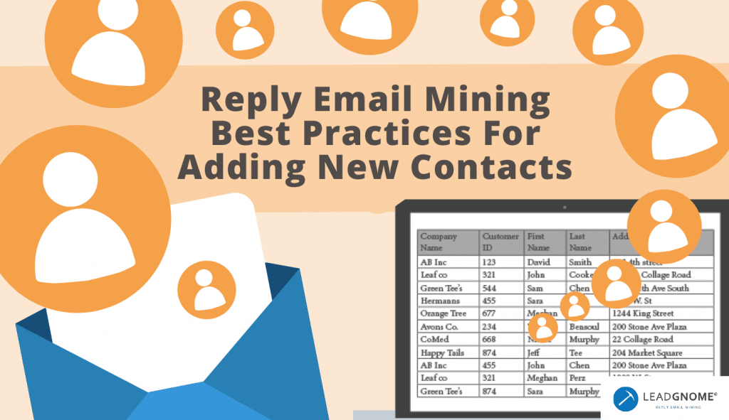 Reply Email Mining Best Practices