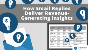 How Email Replies Deliver Revenue