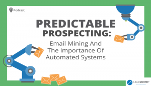 Email Mining Automated Systems