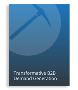 Transformative B2B Demand Generation eBook Cover