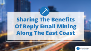 Sharing The Benefits Of Reply Email Mining