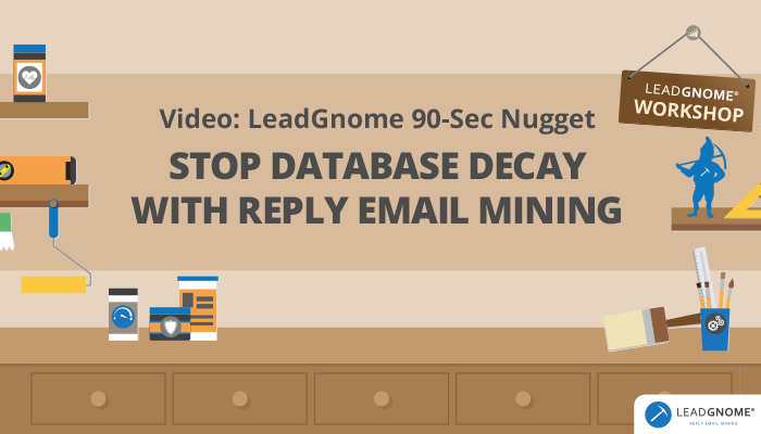 Stop Database Decay Reply Email Mining