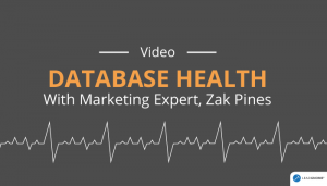 Database Health With Marketing Expert, Zak Pines