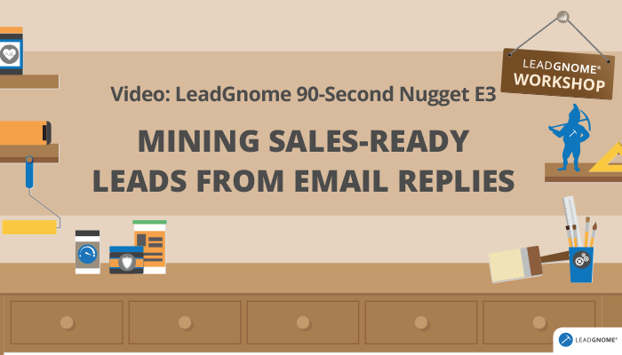 Mining Sales-Ready Leads From Email Replies