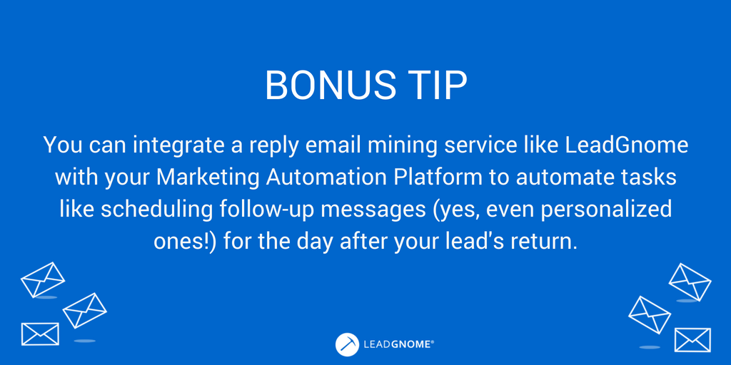 Bonus Tip - Automate Reply Email Mining