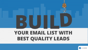 Build Your Email List With Best Quality Leads