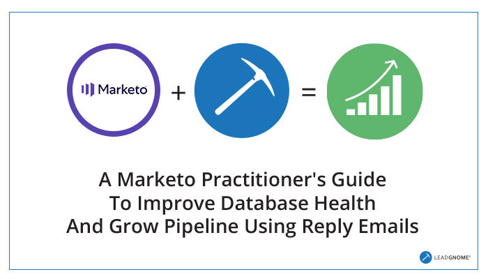 A Marketo Practitioner's Guide To Improve Database Health And Grow Pipeline Using Reply Emails