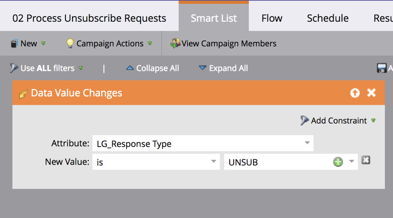 Unsubscribe Requests