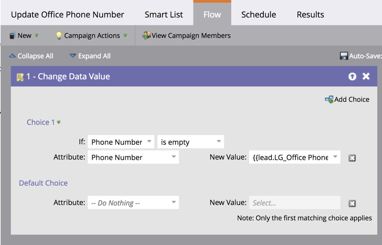 How to update office phone in Marketo