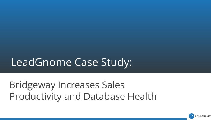 LeadGnome Case Study Bridgeway Security
