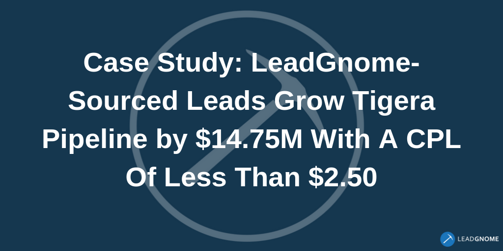 LeadGnome case study Tigera News